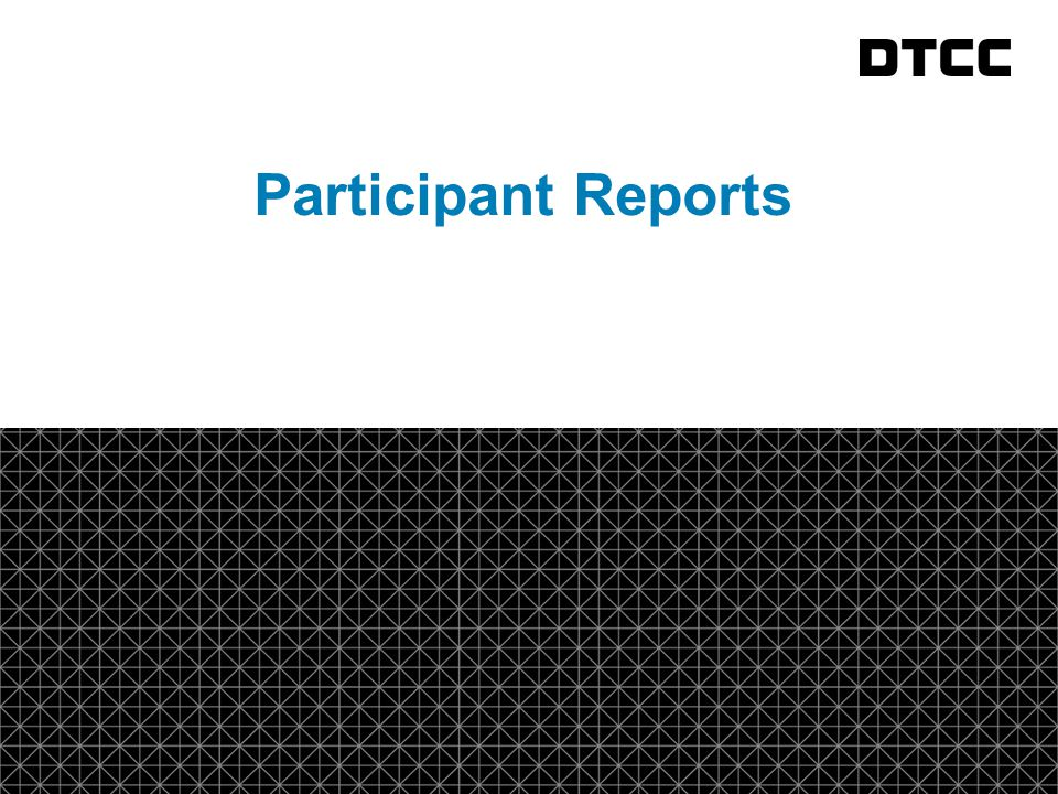 fda Participant Reports