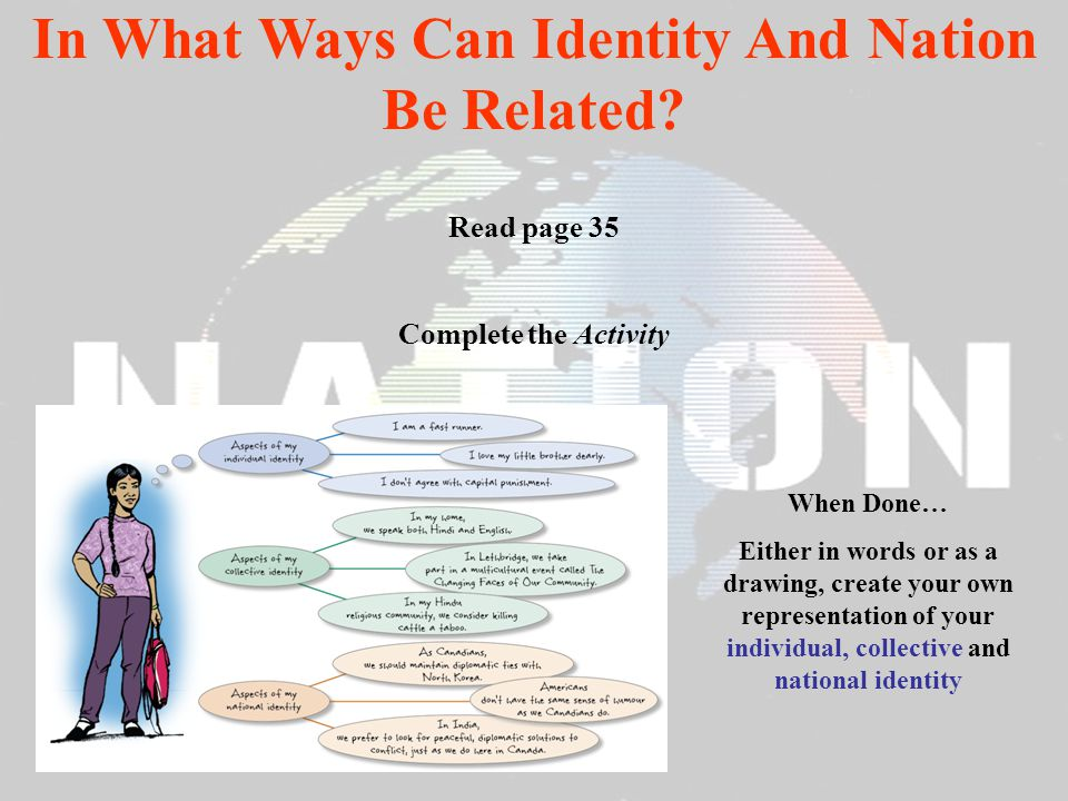 In What Ways Can Identity And Nation Be Related
