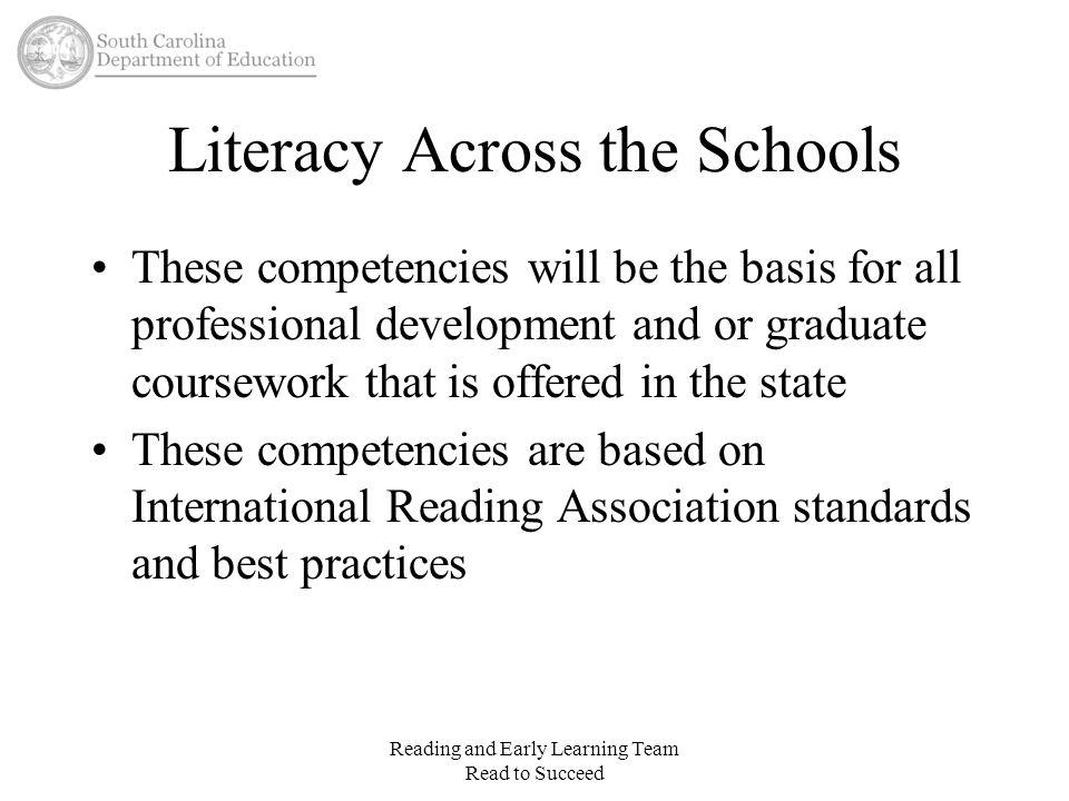 Literacy Across the Schools