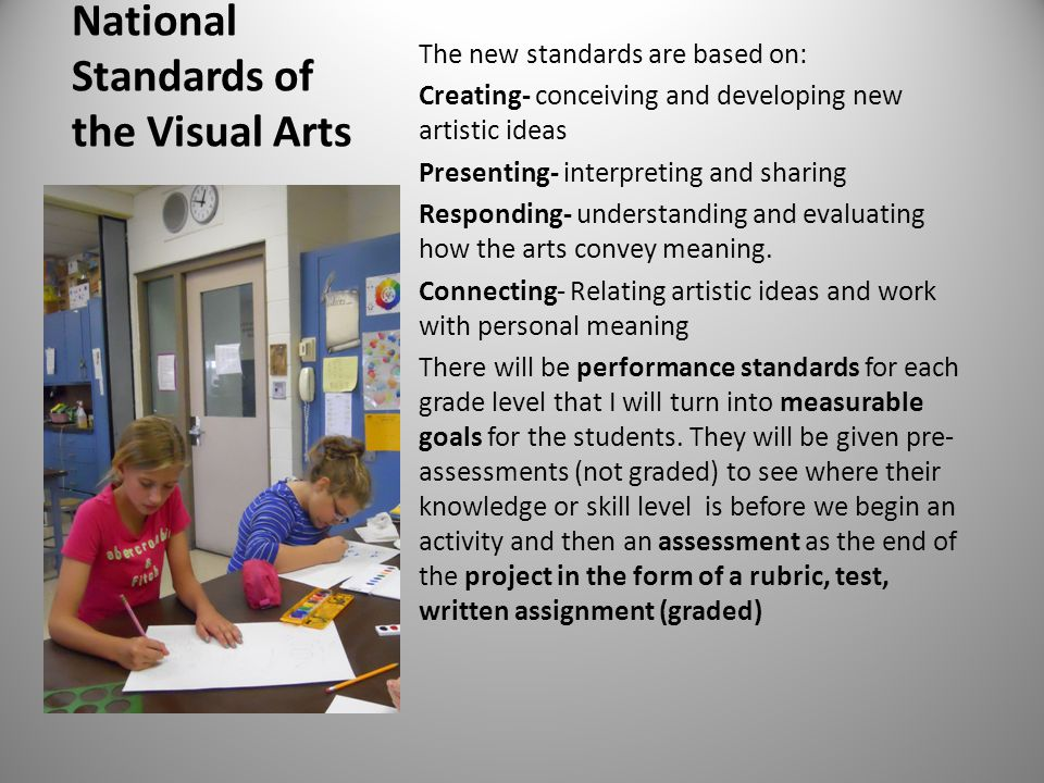 National Standards of the Visual Arts
