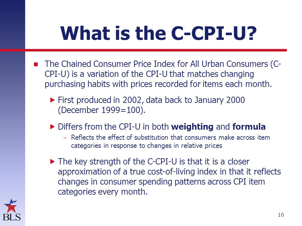 What is the C-CPI-U