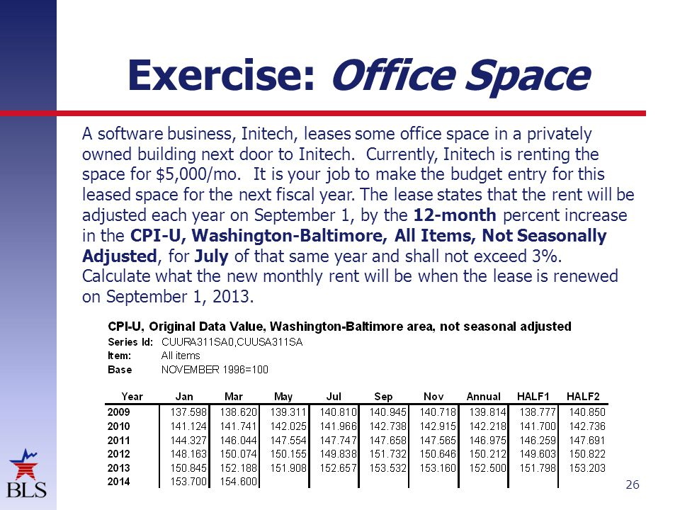 Exercise: Office Space