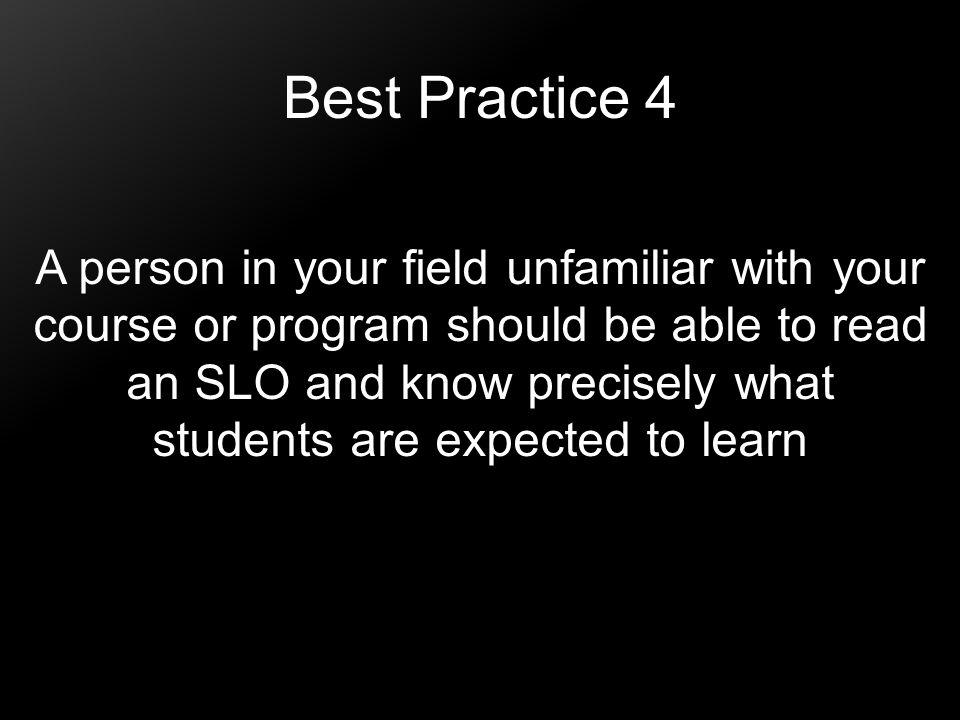 Best Practice 4