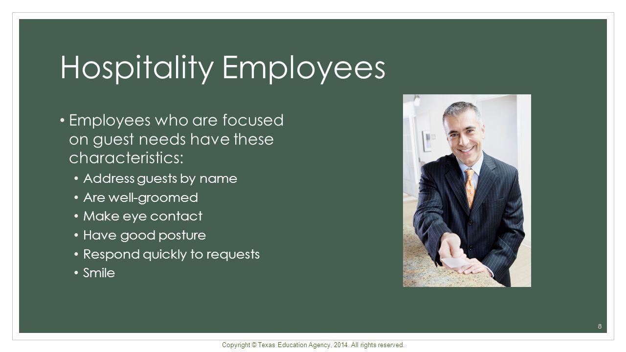 Hospitality Employees