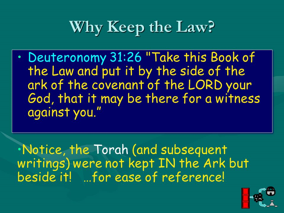 Why Keep the Law