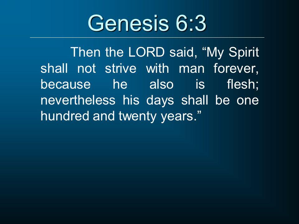 Genesis 6:3