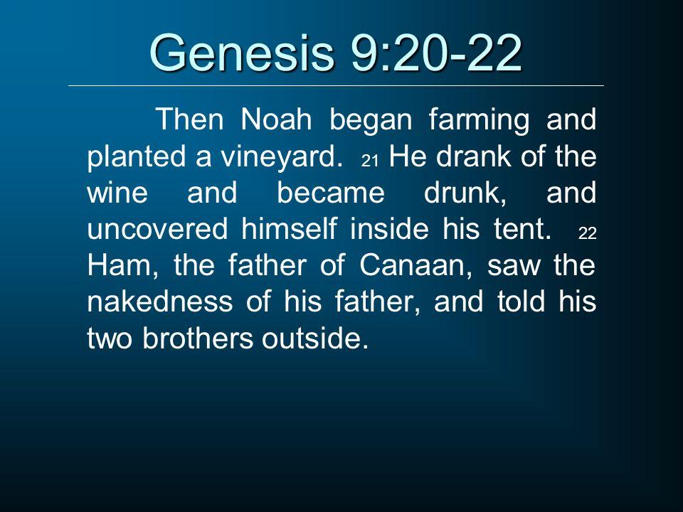Genesis 9:20-22