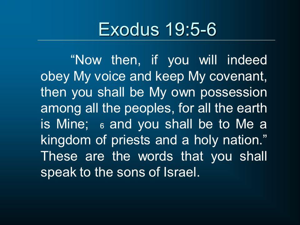 Exodus 19:5-6