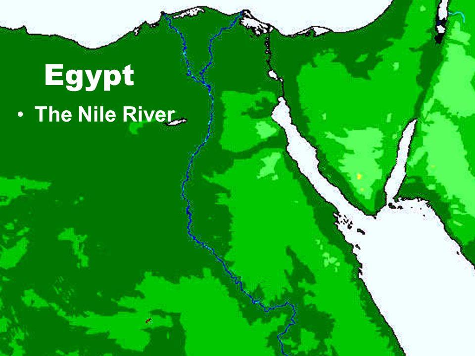 Egypt The Nile River