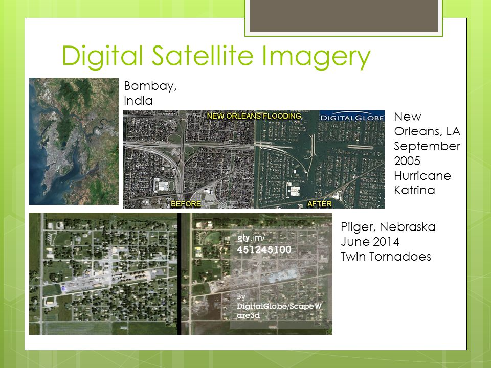 Digital Satellite Imagery