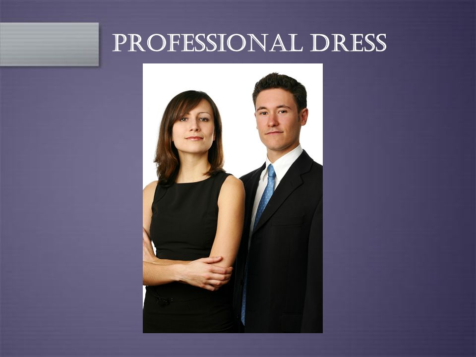 Professional Dress