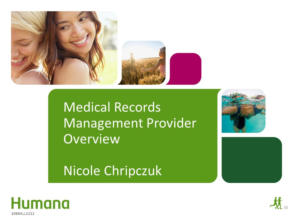 Medical Records Management Provider Overview Nicole Chripczuk