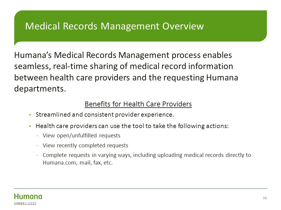 Medical Records Management Overview
