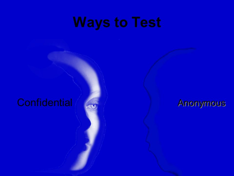 Ways to Test Confidential Anonymous