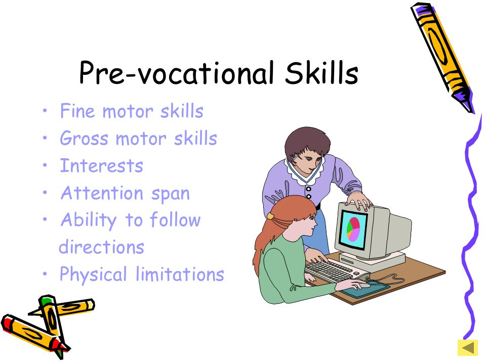 Pre-vocational Skills