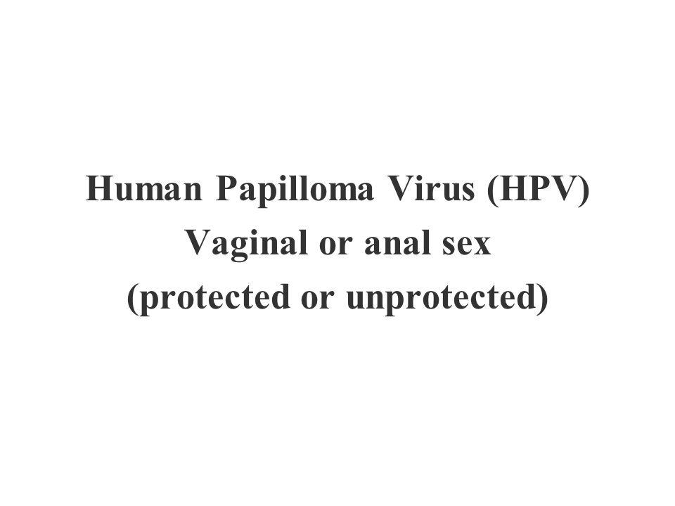 Human Papilloma Virus (HPV) (protected or unprotected)