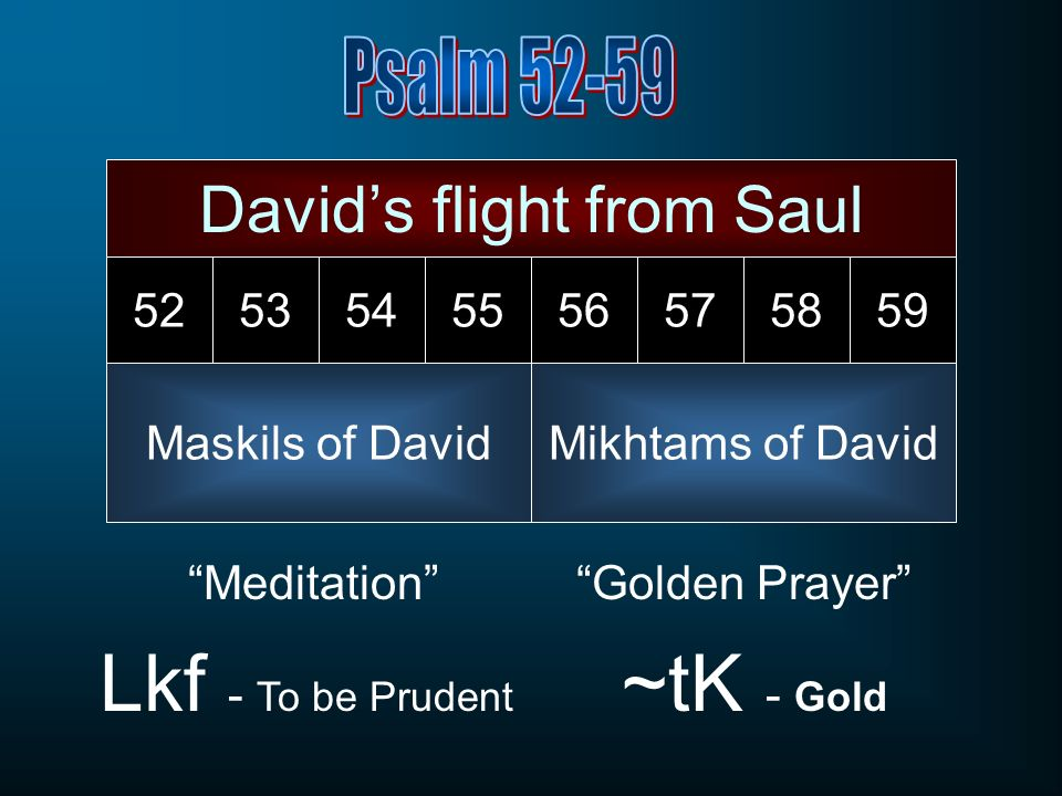 David's flight from Saul