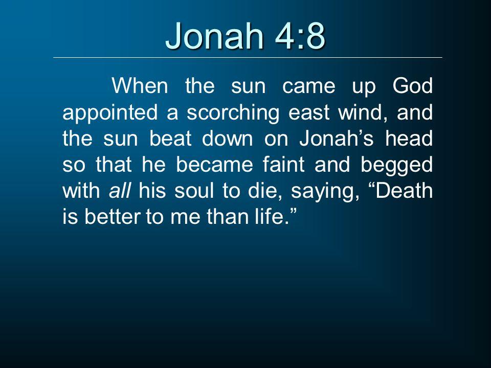 Jonah 4:8