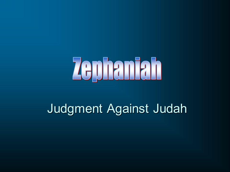 Judgment Against Judah
