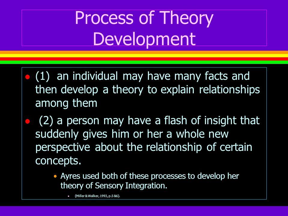 Process of Theory Development