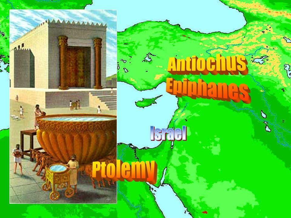 Antiochus Epiphanes Israel Ptolemy