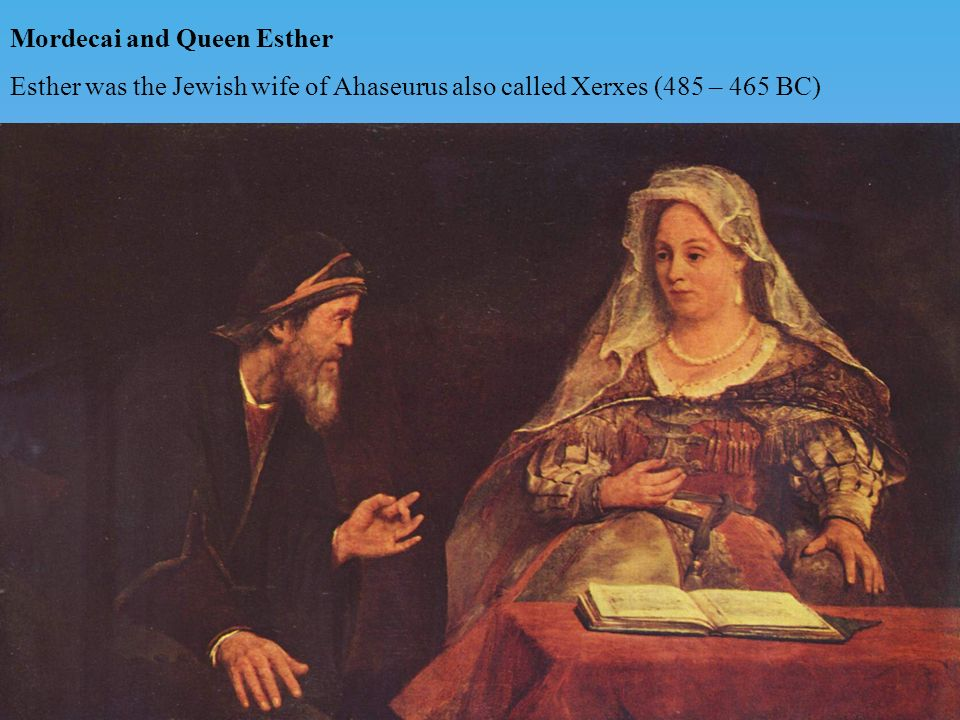 Mordecai and Queen Esther