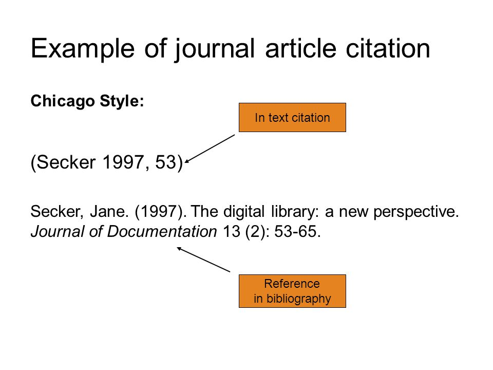 chicago style article citation Citation machine™ helps students and professionals properly credit the information that they use cite your journal article in chicago/turabian format for free.