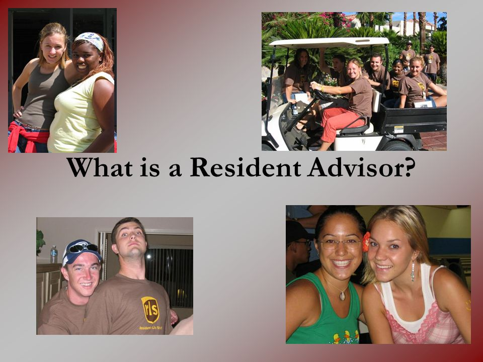 What is a Resident Advisor