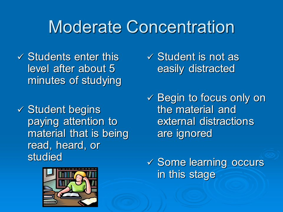 Moderate Concentration