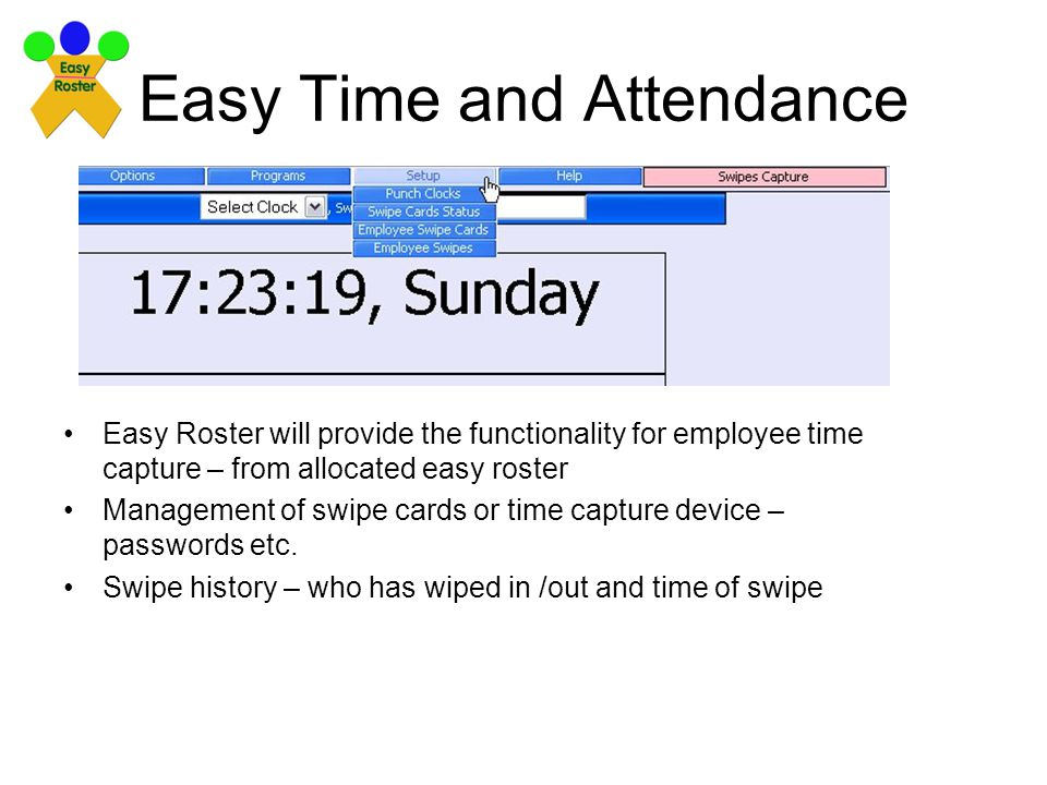 Easy Time and Attendance