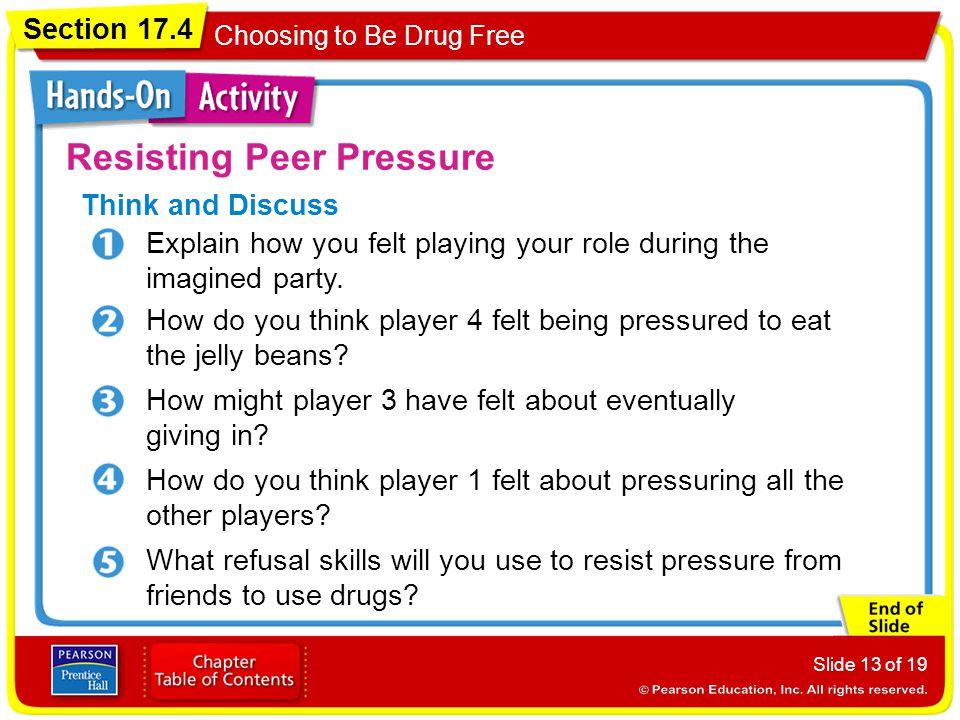 Resisting Peer Pressure