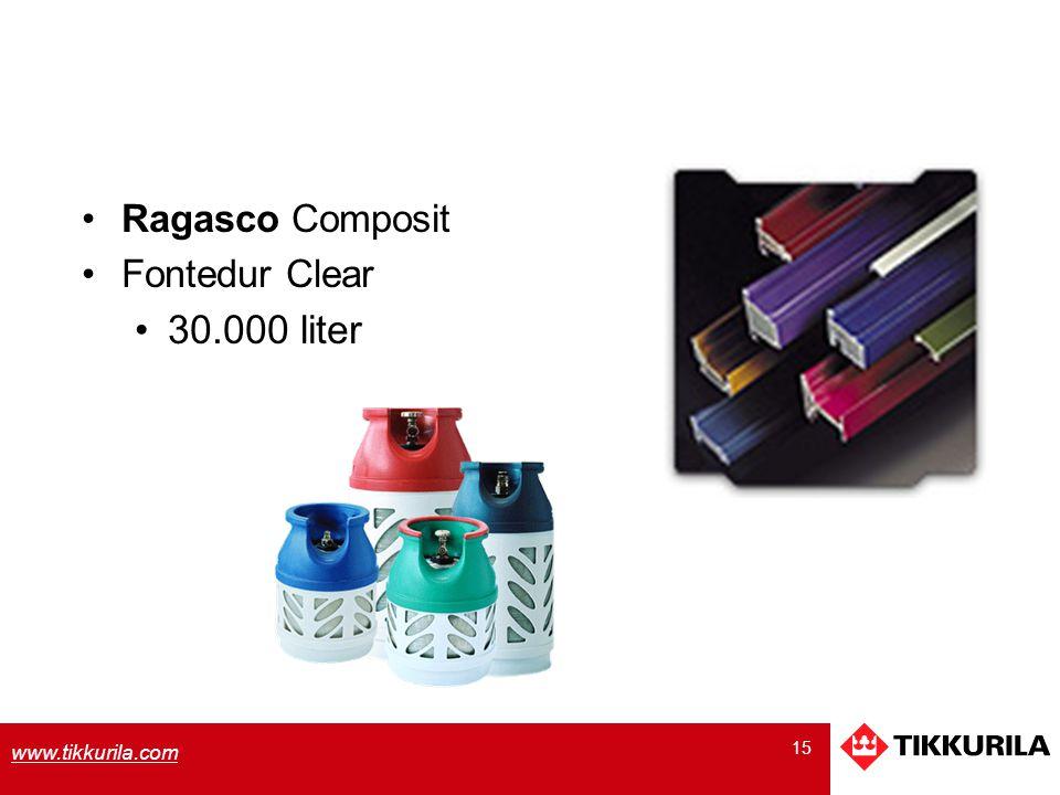 30.000 liter Ragasco Composit Fontedur Clear