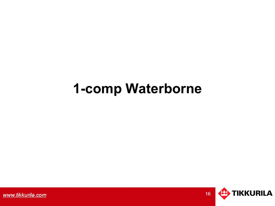 1-comp Waterborne