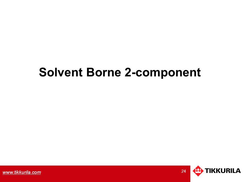 Solvent Borne 2-component