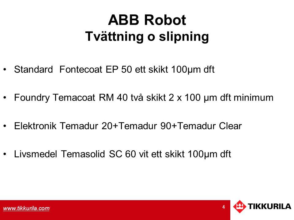 ABB Robot Tvättning o slipning