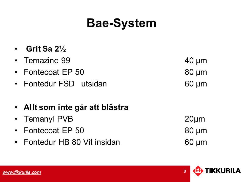 Bae-System Grit Sa 2½ Temazinc 99 40 µm Fontecoat EP 50 80 µm