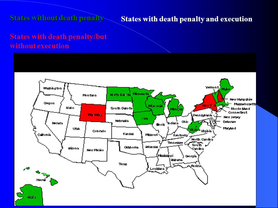 States without death penalty