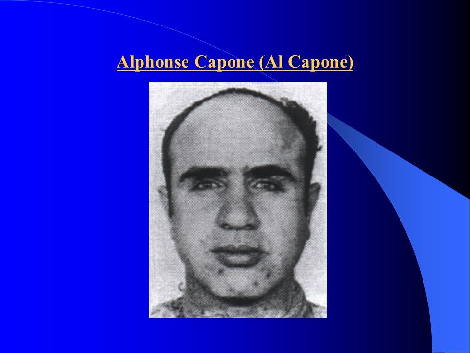 Alphonse Capone (Al Capone)