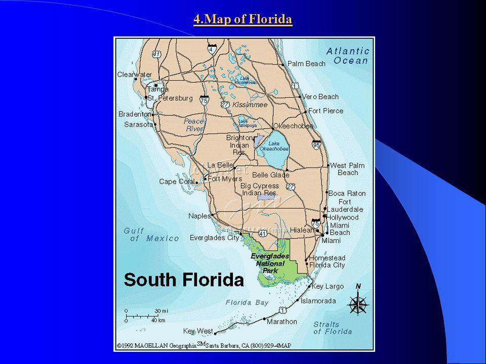 4.Map of Florida