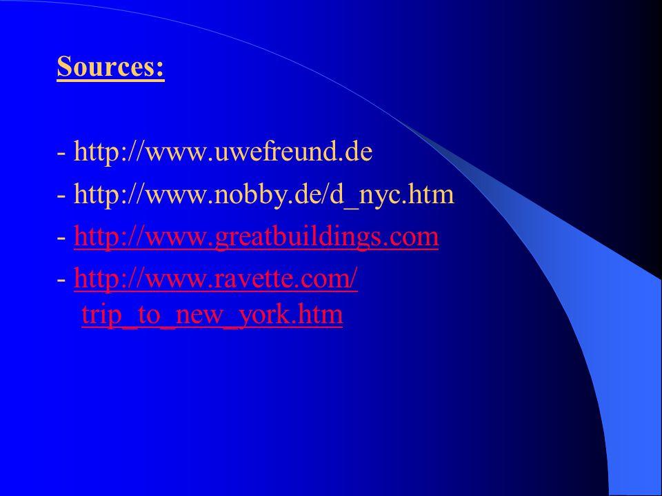 - http://www.uwefreund.de - http://www.nobby.de/d_nyc.htm