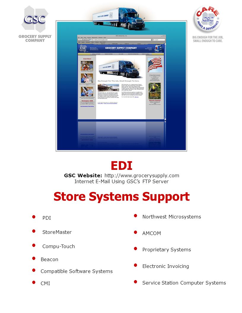 EDI Store Systems Support