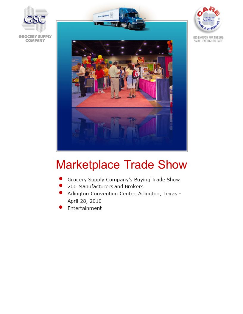 Marketplace Trade Show
