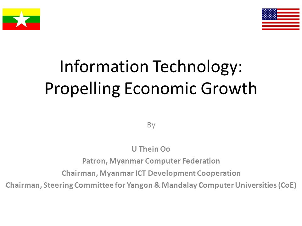 Information Technology: Propelling Economic Growth