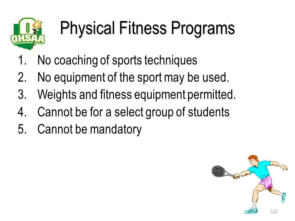 Physical Fitness Programs