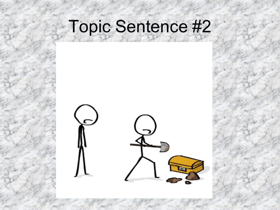 Topic Sentence #2