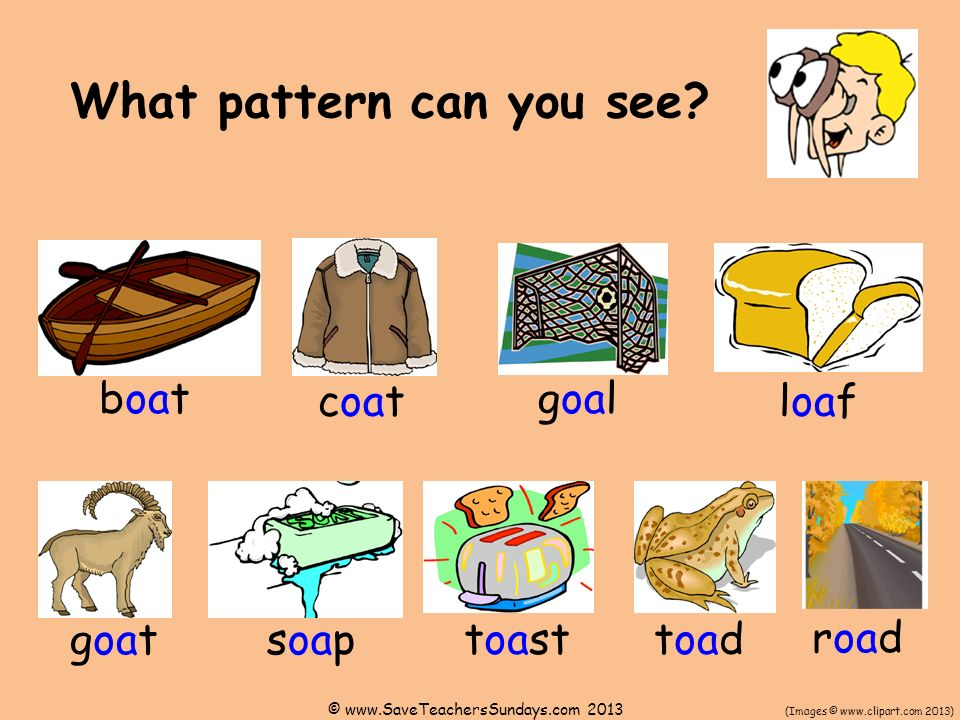 What pattern can you see