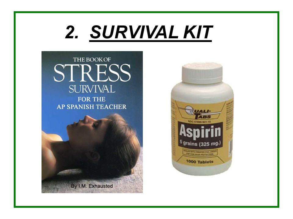 2. SURVIVAL KIT