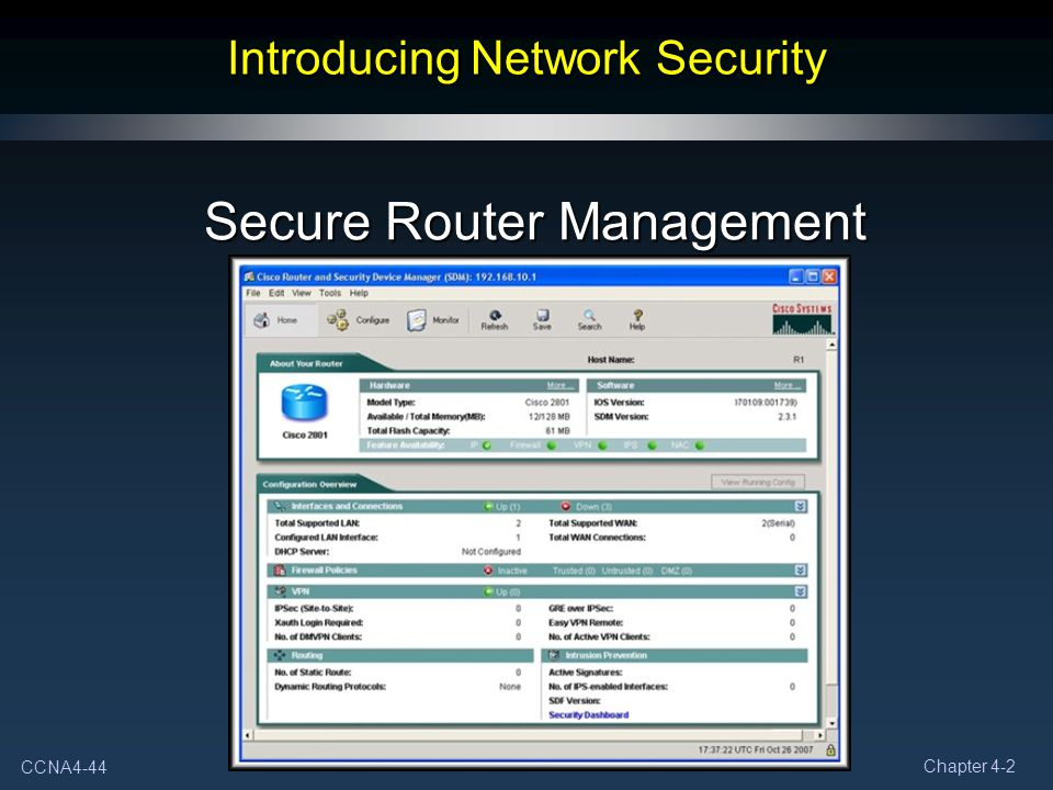 Introducing Network Security