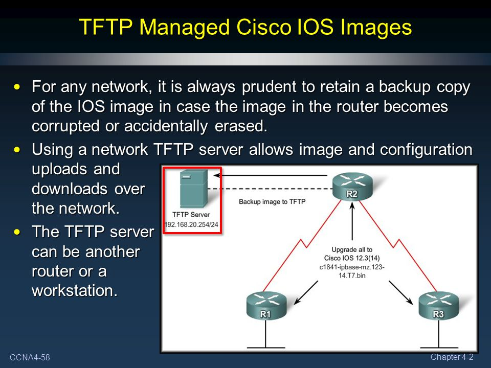 TFTP Managed Cisco IOS Images