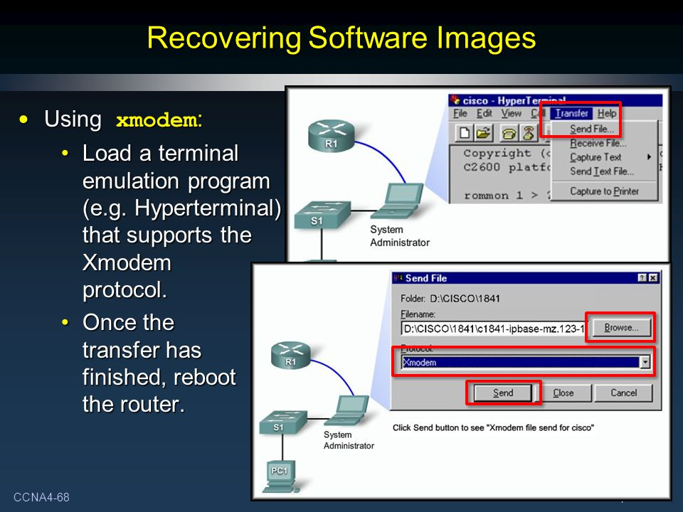 Recovering Software Images